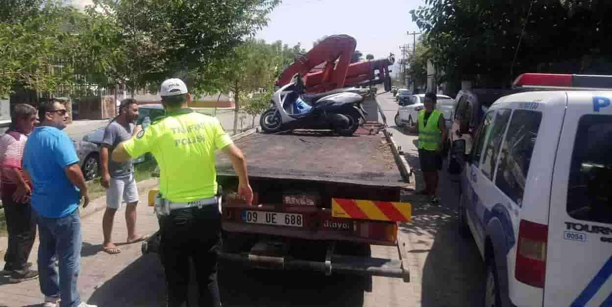 İncirliova'da Motosiklet Denetimi
