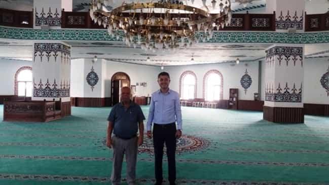 Kaymakam Sürücü'den Cami Ziyareti