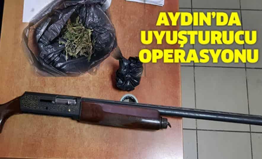 İncirliova'da Uyuşturucu Operasyonu