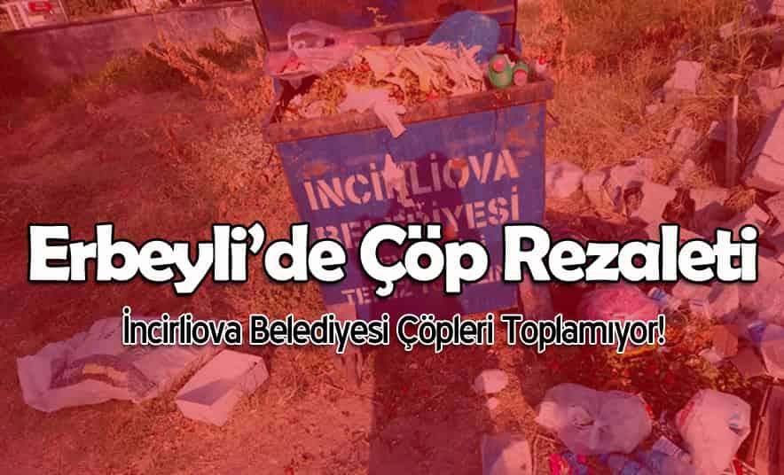 Erbeyli'de Çöp Rezaleti!