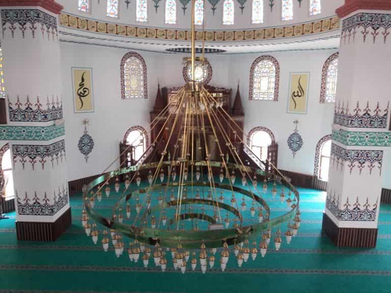 İncirliova'nın En Büyük Camisi Hizmete Açıldı