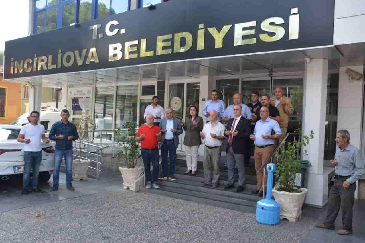 İncirliova'dan Barış Harekatı  İçin Dua