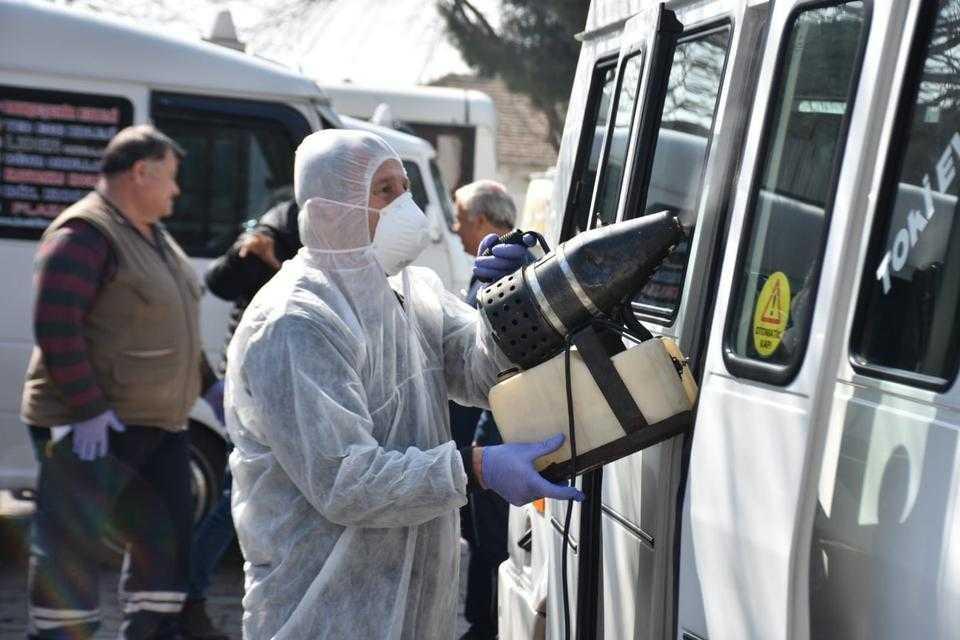 İncirliova'da Korona Önlemi!